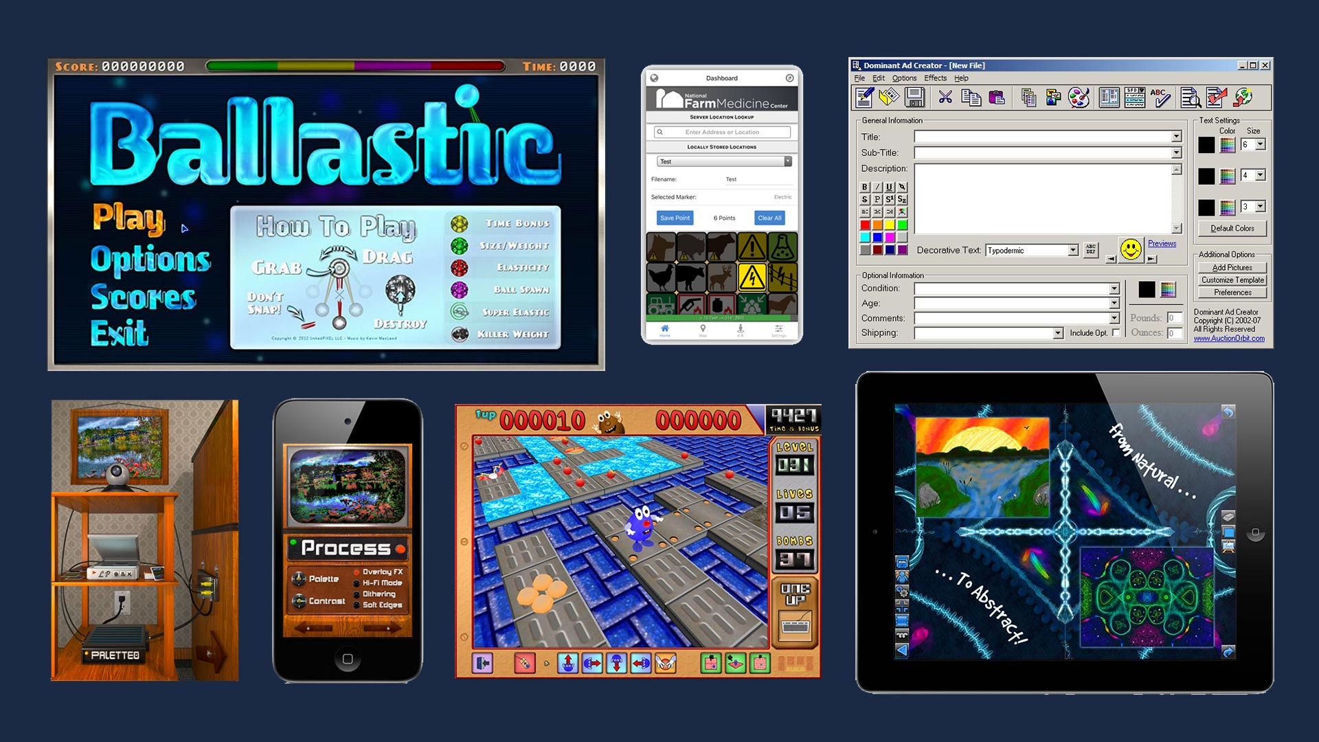 Assorted App Projects